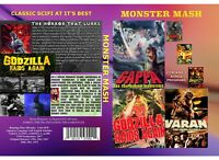 MONSTER MASH (CLASSIC 50's & 60's SCI FI 3 DVD Set/ High Def)