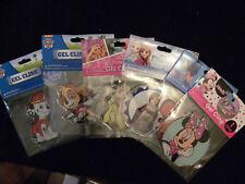 Lot of 6 Disney-Paw Patrol-Princess-Nemo Gel Window Clings-Frozen-Belle-etc-EB29