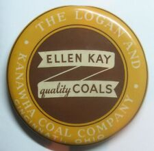 Ellen Kay Quality Coals Mirror - Logan & Kanawha Coal Co. Cincinnati, Ohio