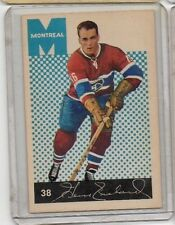 1962 63 Parkhurst #38 Henri Richard Pocket Rocket HOF  Montreal Canadiens EX