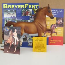 Breyer horse Breyerfest 1998 Celebration model Rejoice MINT with goodies