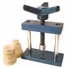 Plantilla de mano Caja de Reloj Herramienta de montaje de vidrio más cerca de 8 matrices 14-30mm Relojeros