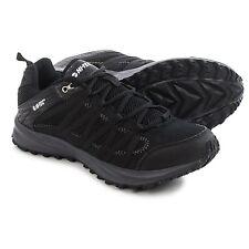 New Men`s Hi-Tec Sensor Trail Lite Trail Running Shoes Black/Charcoal MSRP$85