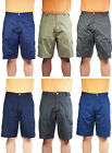 Norty Rio Men's 100% Cotton Twill Ripstop Cargo Shorts