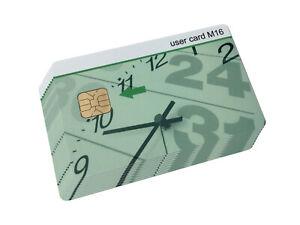 User Card M16 10er-Pack für Chipdrive Zeiterfassungsystem TimeRecording - S32216