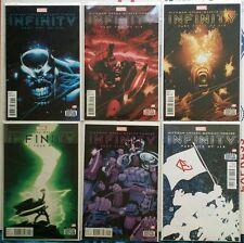 Marvel Infinity 1-6 #1, 2, 3, 4, 5, 6 set run lot  2013 Hickman NM
