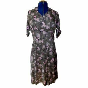Vintage Original 1950s Floral Tea Dress