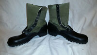 CIC SPIKE PROTECTIVE 1960s GREEN VIETNAM HOT WEATHER JUNGLE BOOTS JJ 326