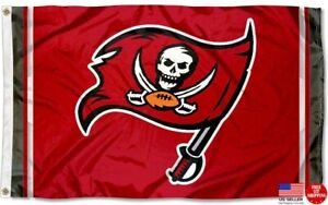 Buccaneers 3 X 5 FLAG 3X5 Banner Tampa Bay New Fast USA Shipping Tampabay Buccs