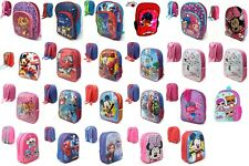 NEW Disney Marvel Junior Backpack Kids Rucksack School Nursery Travel Bag