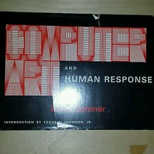 Computer Art and Human Response- Lloyd Sumner, 1968- signed and numbered