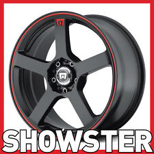 "16x7 16"" 4x100 4x114.3 MR116 Motegi Racing Tuner wheels lightweight"
