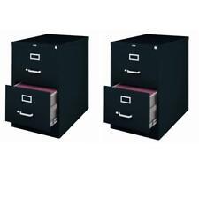 Value Pack Set Of 2 2 Drawer Legal File Cabinet In Black