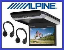 "Alpine Pkg-rse3hdmi 10 2"" Top Quality Overhead Monitor DVD HDMI USB 2 Headphones"