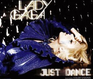 LADY GAGA RARE Australian Just Dance 2008 CD Single