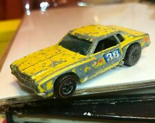 Hot Wheels Red Line monte carlo yellow '74 car stocker redline flying colors !!