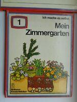 Ich mache es selbst 1: Mein Zimmergarten Brönner Kinderbuch Bilderbuch 1973