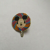 Disney WDW Lollipops Mystery 4 Pin Tin Collection Mickey Mouse Pin