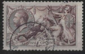 z582) Great Britain. 1918/19. Used.  SG 414 2/6 Wmk. Simple cypher c£75+