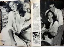 MARISA BERENSON =>  coupure de presse 2  pages 1976 / CLIPPING