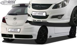 RDX Bodykit für Opel Corsa D Front Spoiler Heck Seitenschweller Dachspoiler