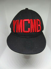 YMCMB fashion Blogger Hollister Black Embroidered Cotton Snap back Cap hat