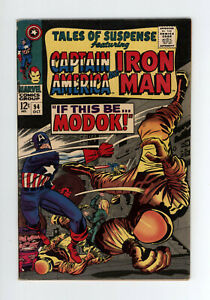 TALES OF SUSPENSE #94 - NICE - 1st Appearance of M.O.D.O.K. - KEY ISSUE - 1967