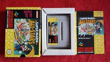 SUPER MARIO ALL STARS COMPLETE BOXED AND TESTED SUPER NINTENDO SNES PAL VERSION