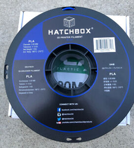 HATCHBOX PLA 3D Printer Filament 1 kg Spool, 3.00 mm, Blue