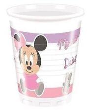 Artículos de fiesta color principal rosa cumpleaños infantil sin anuncio de conjunto