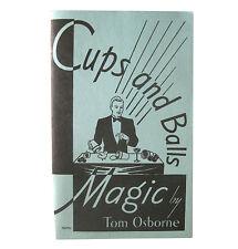 Cups and Balls Tom Osborne Close Up Magic Trick Book