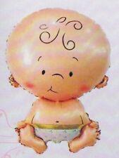 palloncino mylar gonfiabile battesimo natività nascita bimba bebe bimbo 48x26 cm