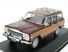 PREMIUM X DIE CAST PRD132 Jeep Wagoneer 1989 Bordeaux - 1:43 in OVP / Box Model