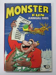 Monster Fun Annual 1985 Hardcover (IPC Magazines ltd.) UK Horror for Children!
