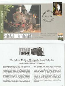 SIERRA LEONE 2004 URUGUAY RAILWAYS OVERSEAS LOCOMOTIVES SERIES COVER SHS