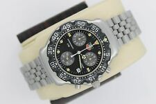 Tag Heuer Black 2000 CA1211 Professional Chronograph SS Watch Mens CA1210 CA1212