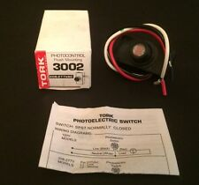 Tork 3002 Photocontrol, 208-277VAC Flush Mounting Switch SPST Normally Closed