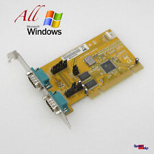 PCI 2x RS-232 SERIAL COM PORT CARD KARTE ExSYS EX-43092-S OXFORD DRIVERS WINDOWS