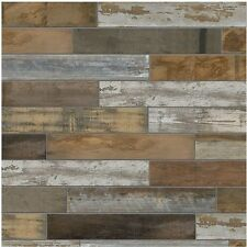 Wood Vintage Porcelain Floor Wall Tile Shower Kitchen Flooring Backsplash 6x24