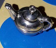 Charm V102 Tea Pot Sterling Silver Vintage Bracelet