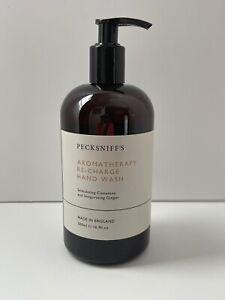 Pecksniff's England Aromatherapy Re-charge Hand Wash Cinnamon & Ginger 16.9 oz