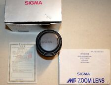 Vintage SIGMA 70-210mm F4-56 UC M-MF for Minolta - Made in Japan