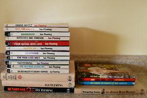 Ian Fleming James Bond 007 Complete Books, 1960's PB HB + Bond Lovers, Report