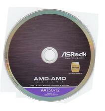 original ASRock Mainboard Treiber CD DVD FM2A75 Pro4 *46 Win XP Vista driver NEU