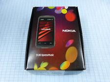 Nokia 5530 XpressMusic Schwarz/Rot! Gebraucht! Ohne Simlock! TOP! OVP! RAR!