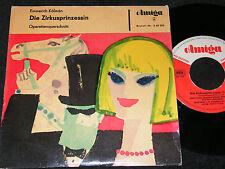 EMMERICH KALMAN Die Zirkusprinzessin / DDR SP 1963 AMIGA 540209