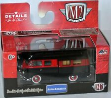 M2 Machines MiJo Exclusive - 1959 VW DOUBLE CAB CAMPER - black/red - 1:64 MJS05