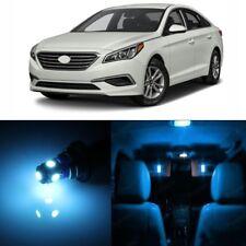 11 x Ice Blue Interior LED Lights Package For 2011 - 2017 Hyundai Sonata + TOOL