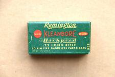 Remington Kleanbore Hi-Speed .22 Long Rifle Empty Box