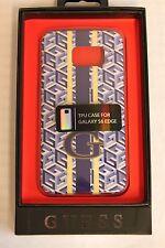 GUESS Handyhülle Case Tasche Samsung Galaxy S6 Edge Schutz Cover